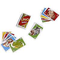 Настольная игра Уно (Uno. Junior) для самых маленьких Игра для вечеринок