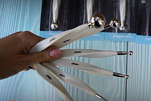 Фирменные инструменты Cernit Цернит (Бельгия) для лепки стеки шар , 1 шт (р.5/3 мм), средний, универ