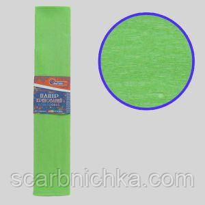 "Бумага гофрированная салатовый 35% 20г\м2 50см*2м KR35-8012 ""JO"""