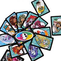 Настольная игра Уно Школа Монстров (UNO Monster High ) для самых маленьких Игра для вечеринок