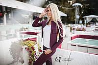 Молодёжный женский костюм Karina жакет с накладными карманами и узкие брюки (5 цветов) (160)#0125