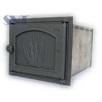 Чугунная духовка для дровяной печи 446 SVT 290х345х475 мм