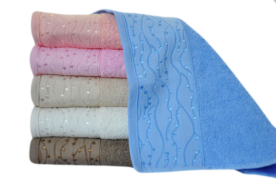 Банные махровые полотенца Sweet Dreams 70x140 (6-шт) № 61355