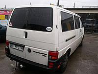 Заднее стекло (распашонка левая) с электрообогревом на Volkswagen Transporter Т-4 (Фольксваген Транспортер Т-4
