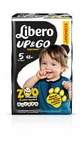 Трусики Libero Up&Go Maxi Plus 5 (10-14 кг) 48шт.