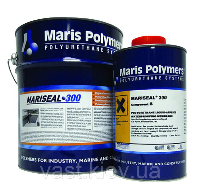 Полиуретановая водонепроницаемая мембрана MARISEAL 300 белый, серый, 7 кг - VAST в Киеве