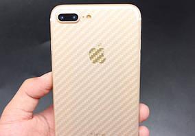 Пленка на корпус iPhone X Carbon