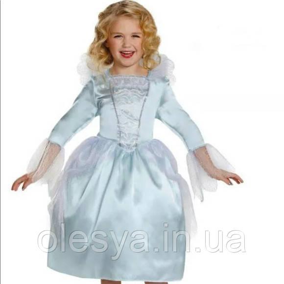 Нарядное платье Золушки для девочки 4-6 лет