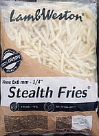 """Картофель Фри """"Стелс"""" 6/6 (2,5 кг)"""