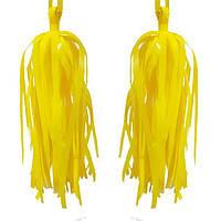 Кисточки тассел желтого цвета, 2 шт.