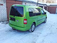 Заднее стекло (распашонка правая) с электрообогревом на автомобиль VW Caddy 07- (Фольксваген Кадди 07-)