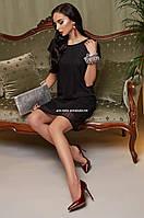 Платье Lyalya Женское вечернее Праздничное Новогоднее черное модное