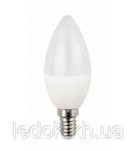 Светодиодная лампа Luxel C37 6W 220V E14(ECO 045-NE 6w)