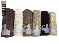 Банные махровые полотенца Sweet Dreams 70x140 (6-шт), фото 1