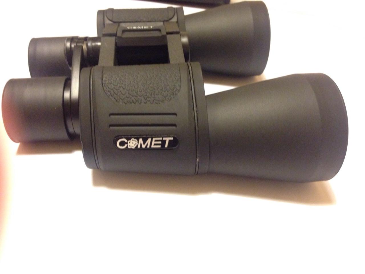 Бинокль Comet 10x50 кнопка черный