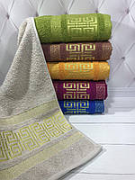 Лицевые махровые полотенца 50х90 (6-шт) Sweet Dreams № 61360-1, фото 1