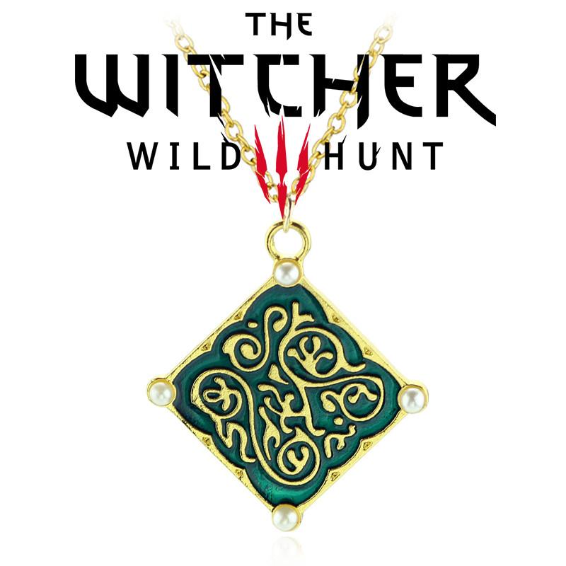 Коллекционный медальон Трисс Меригольд The Witcher