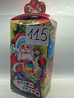 Упаковка для конфет Новый год 400-500 грамм