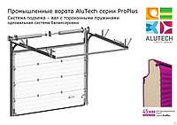 Промышленные секционные ворота Alutech ProPlus (панель 45мм)