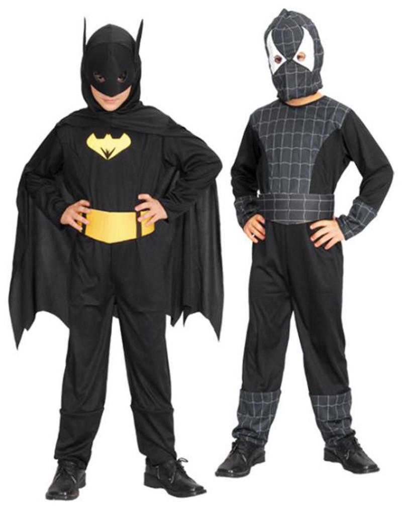 Костюм Бэтмена для детей: новогодний наряд 68