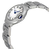 Часы Cartier Ballon Bleu Silver женские, копия
