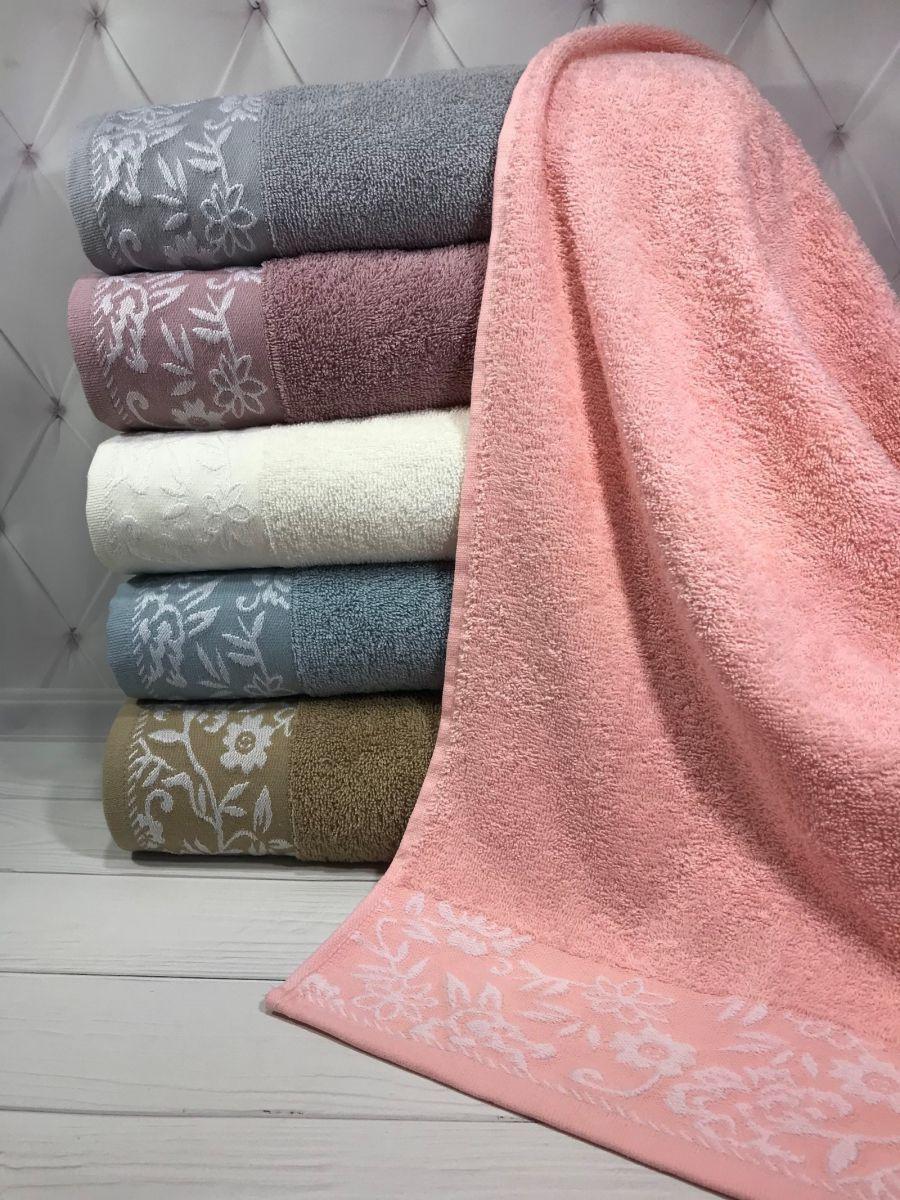 Банные махровые полотенца Sweet Dreams 70x140 (6-шт) № 61366