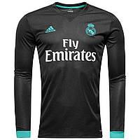 Футбольная форма Реал Мадрид гостевая сезон 17/18 длинный рукав