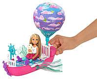 Кукла Челси и ее сказочный корабль Barbie Chelsea Dreamtopia Vehicle