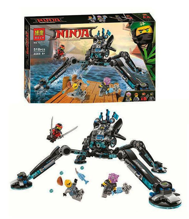 """Конструктор Ninjago Bela """"Водяной робот""""  арт. 10717"""