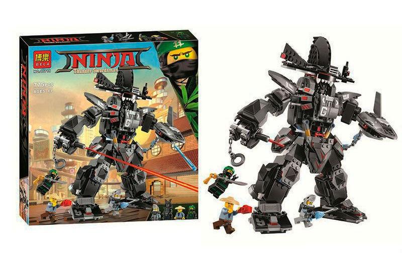 "Конструктор Ninjago Bela ""Робот Гармадона""  арт. 10719"