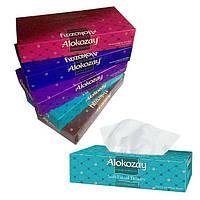 """Салфетки """"Алокозай"""" 100 шт,  двухслойные гигиенические бумажные"""