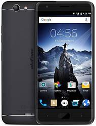 """UleFone U008 Pro black  2/16 Gb, 5"""", MT6737, 3G, 4G"""
