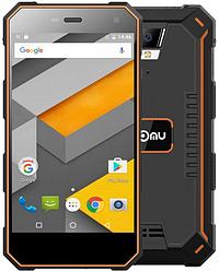 "Nomu S10  black-orange IP68 2/16 Gb, 5"", MT6737T, 3G, 4G"