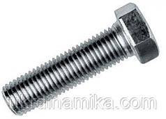 Болт высокопрочный с цинковым покрытием М20 ГОСТ 7805-70, DIN 933, DIN 931 класс прочности 10.9