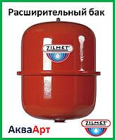 """Zilmet расширительный бак Cal-Pro для систем отопления 12 л  3/4""""G  Ø294  H=281 мм"""