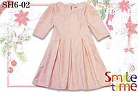 Платье детское на утренник р.104,110,116,122,128 SmileTime Janet, розовое