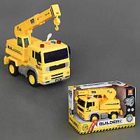 Детский инерционный грузовик Кран WY510D