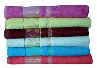 Лицевые махровые полотенца 50х90 (6-шт) By Ido