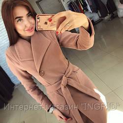 Пальто Мадлен коричневый