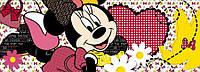 Фотообои фотошпалери Komar 1-472 Disney Minnie Dreaming Минни 202х73 бумажные