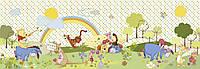 Фотообои фотошпалери Komar 4-410 Disney Winnie Beautiful Day Винни-Пух 368х127 бумажные