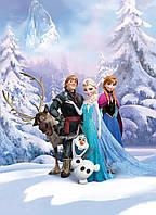 Фотообои фотошпалери Komar 4-498 Disney Frozen Winter Land 184х254 бумажные