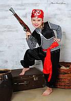 """Детский карнавальный костюм """"Пират"""" Унисекс, №1, Украина, Пираты, Атлас"""