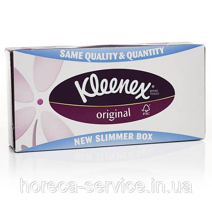 """Kleenex""  Original в пенале 80 шт 3-х слойн. 20х20, фото 2"