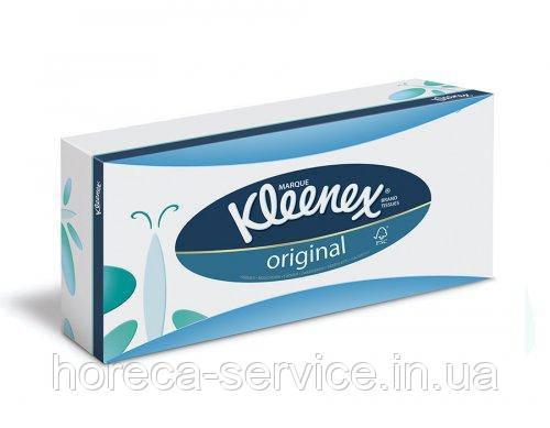 """Kleenex""  Original в пенале 80 шт 3-х слойн. 20х20"