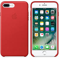 Apple iPhone 7 Plus Leather Case - (PRODUCT)RED MMYK2