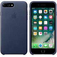 Apple iPhone 7 Plus Leather Case - Midnight Blue MMYG2