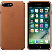 Apple iPhone 7 Plus Leather Case - Saddle Brown MMYF2