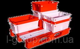 Ящик пластиковий 600х400х220, Італія