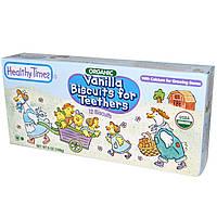 Healthy Times, Органические печенья с ванилью для режущихся зубок, 12 печенек, 6 унций (168 г)